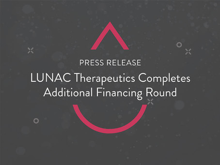 LUNAC Therapeutics Completes Additional Financing Round