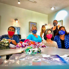 Face Masks Made by Maui Volunteers, Yet Again!