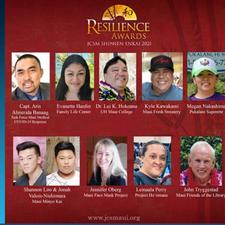Maui Now: 'Resilience Award'