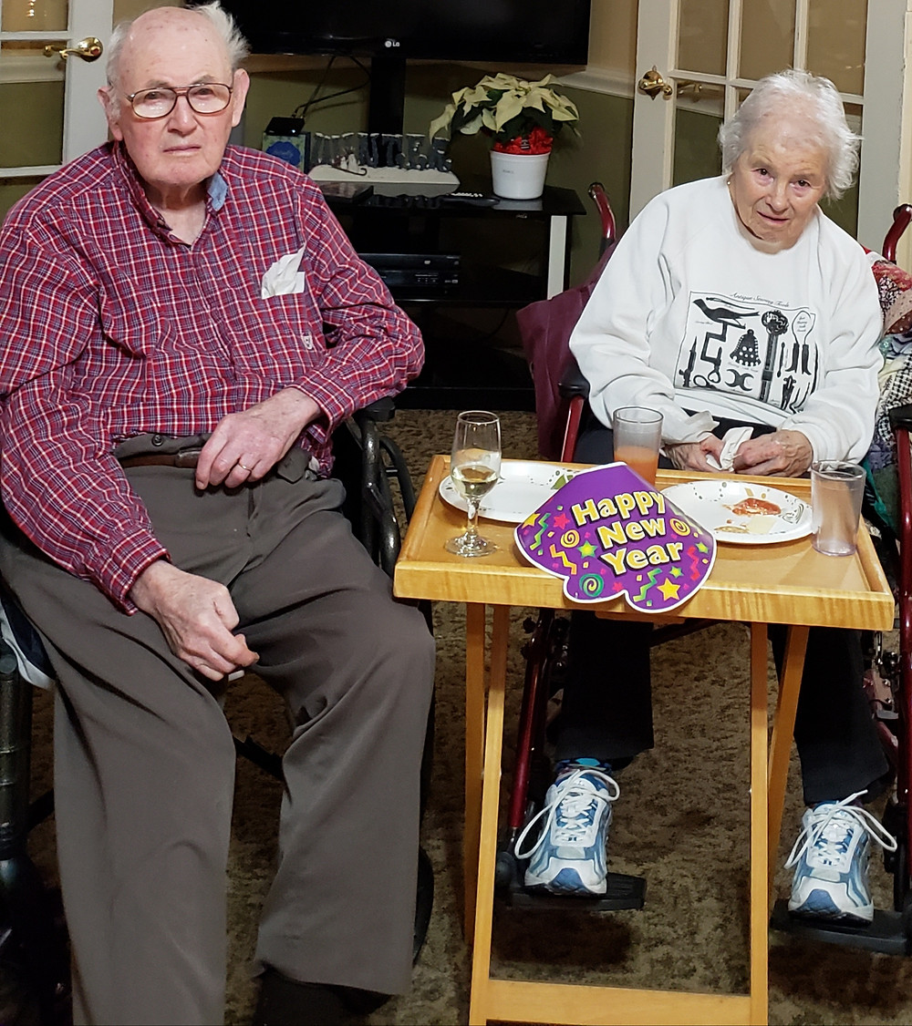 peabody home residents celebrate new year