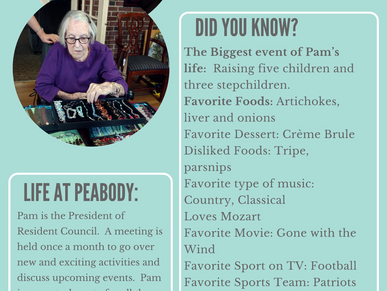 Meet the Residents of Peabody.