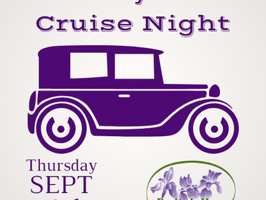 Peabody Home's First Ever Cruise Night! - Rescheduled for Thursday, Sept 20th!