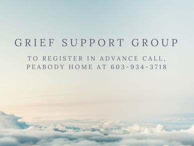 The Peabody Home in Franklin hosts a Grief Support Group Spring Program