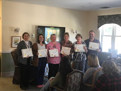 Peabody Home Staff receive Certified Dementia Practitioner credential