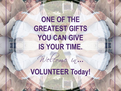 Make a 2018 Resolution to Volunteer!