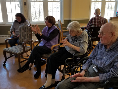 Andover Congregational Church Monthly Visits