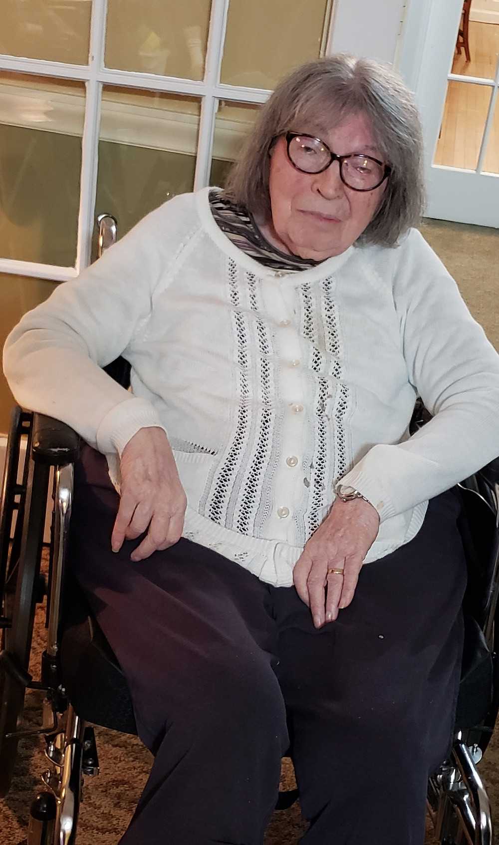 peabody home resident celebrate new year