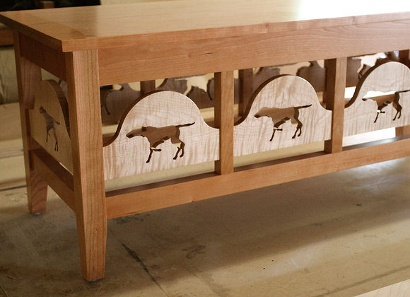 Pointer coffee table
