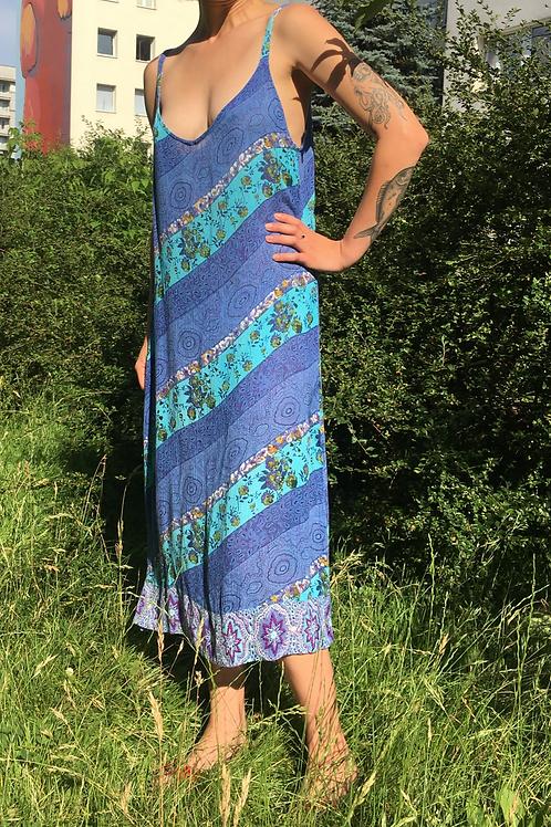 Vintage indian shoulder strap  dress 40