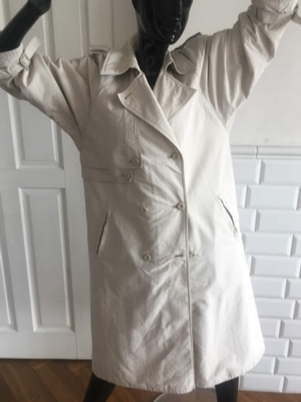 Vintage beige cotton trench coat  38/40