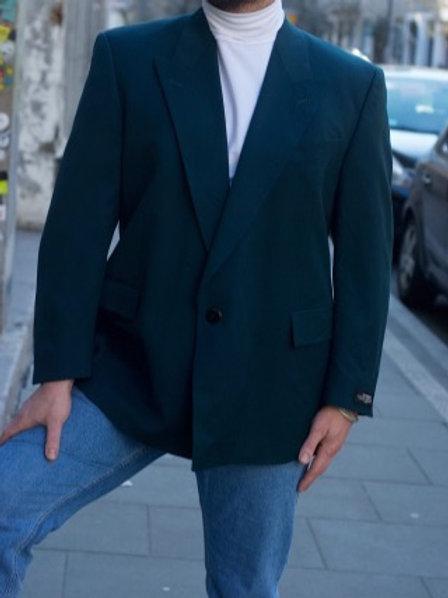 Vintage sea green wool blazer  L