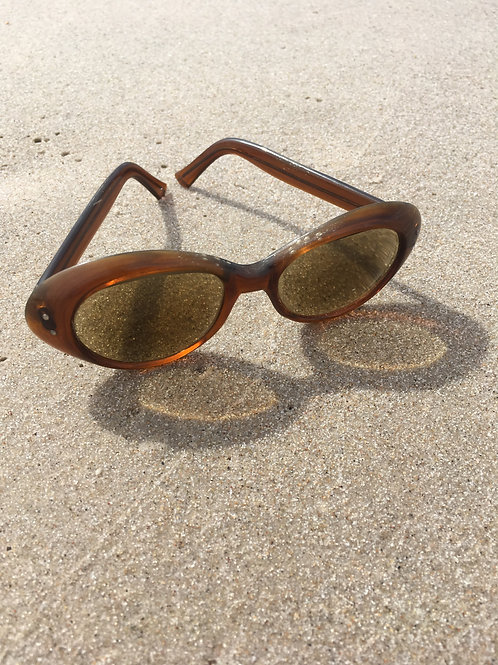 Vintage 90' brown small / child size sunglasses