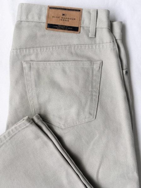 Vintage beige jeans 36