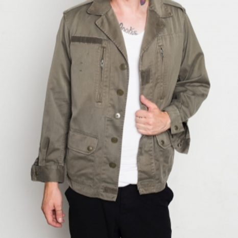 Military vintage jacket green M