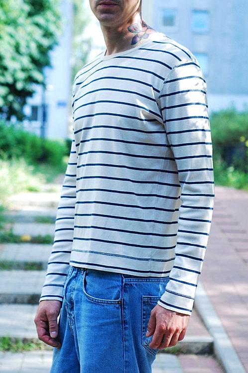 Vintage classic blue & whitesaliorT-shirt
