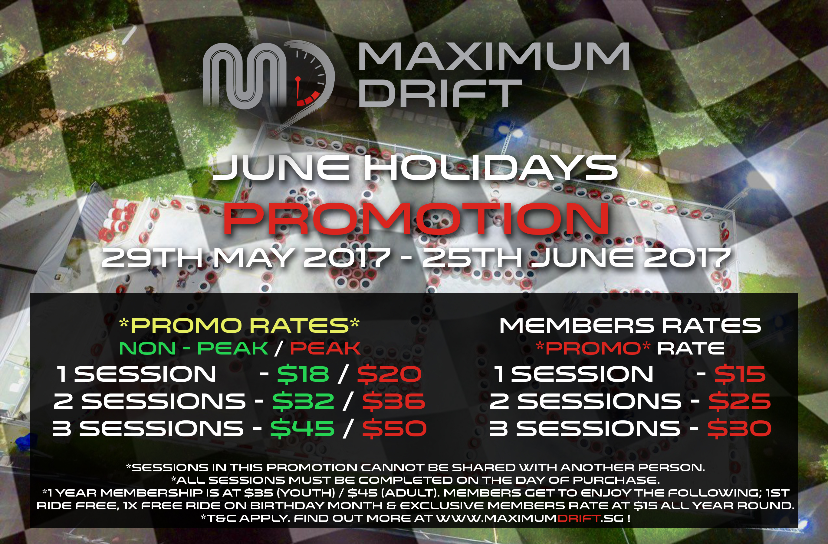 June Holiday Promotion