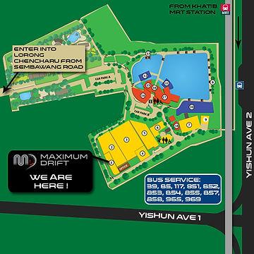 Maximum Drift Karting Arena Location