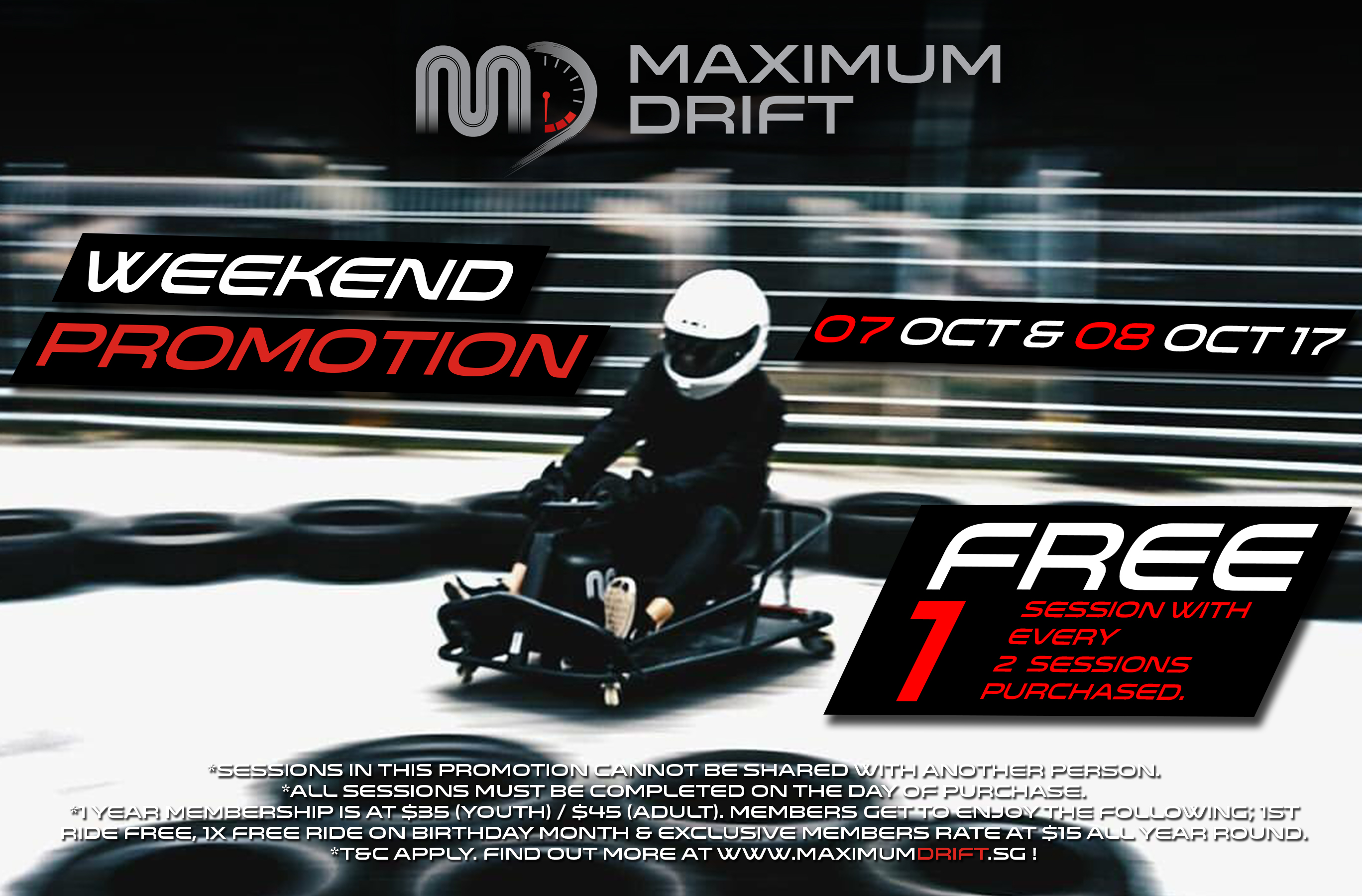 Maximum Drift Weekend Promotion!