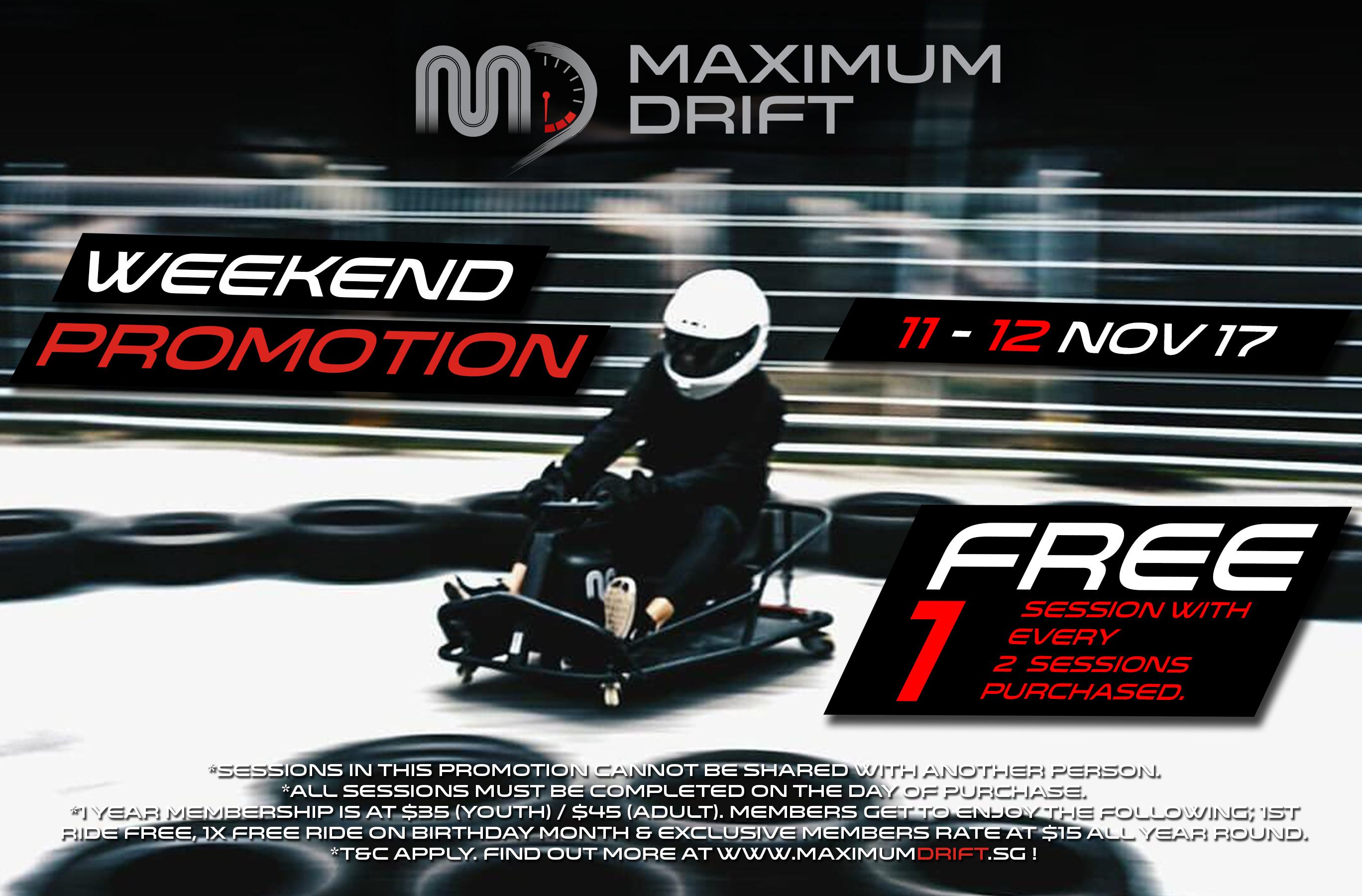 Weekend Promo (NOV)
