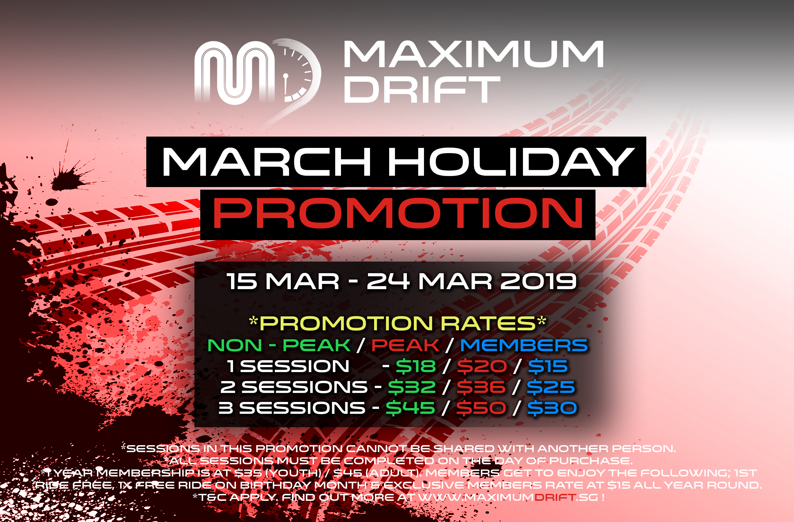 March School Holidays 2019