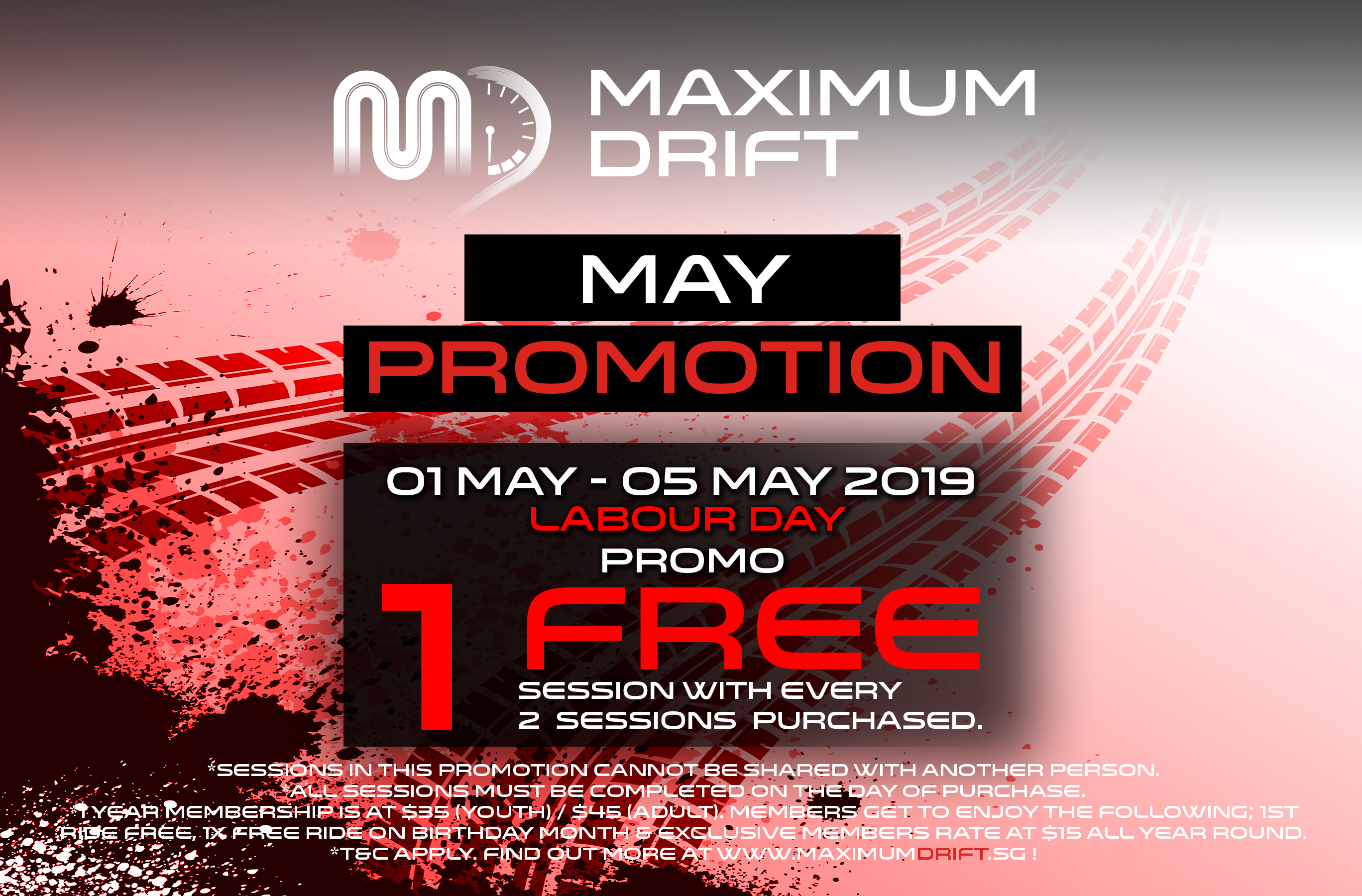 May 2019 Promotion