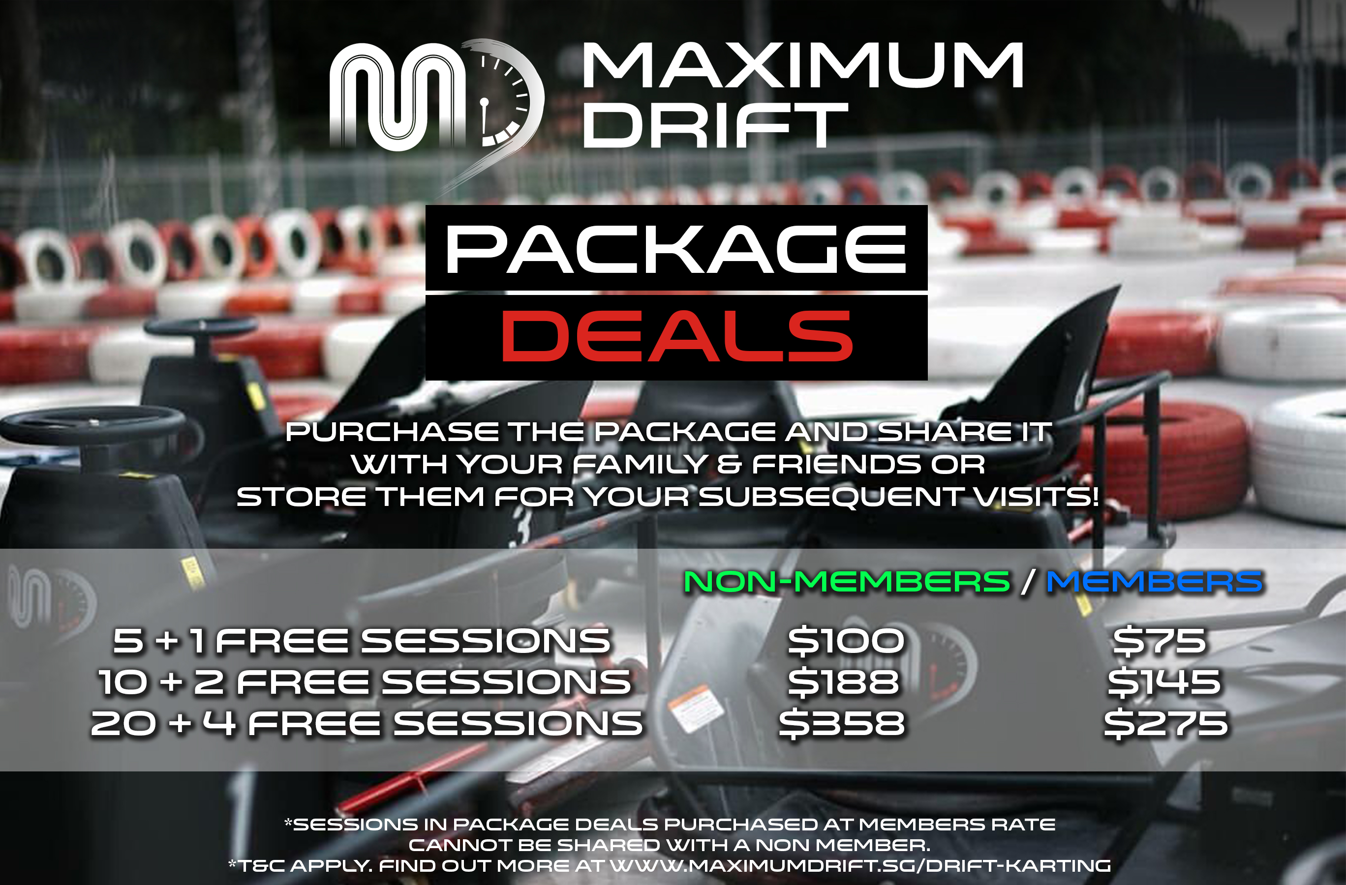 Drift Karting Package Deal