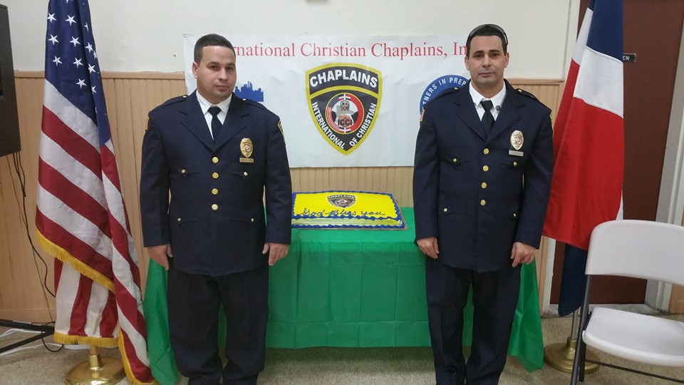Graduation of the Chaplains