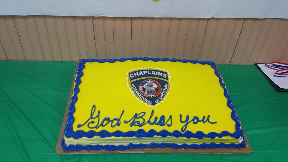 God Bless You Cake