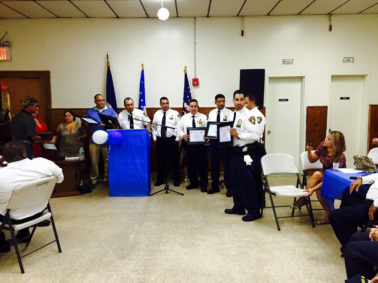 75th. Precinct Recognition Day