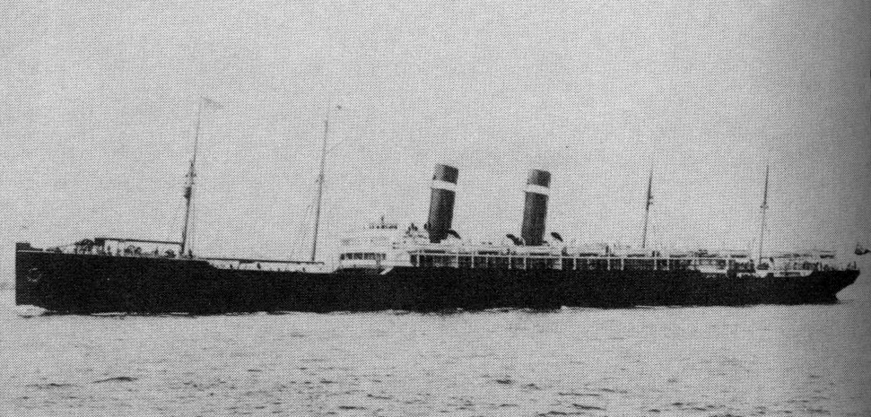 The SS Zeeland, on which Matthew Noska's ancestor sailed. | Mike Batie