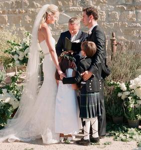 Mark-Paul Gosselaar's wedding with Catriona McGinn. Hollywood Ancestry - Mike Batie