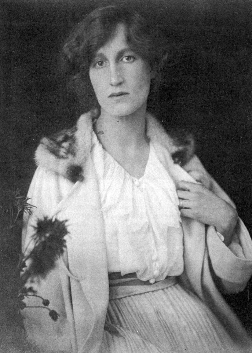 Portrait of Helena Bonham Carter's grandmother, Lady Helen Violet Bonham Carter.