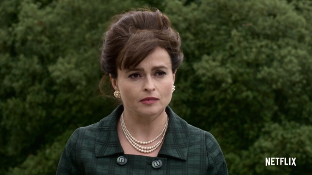 Helena Bonham Carter as Princess Margaret in 'The Crown.'