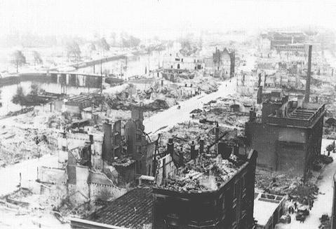 The Bombing of Rotterdam - Hollywood Ancestry - Mike Batie