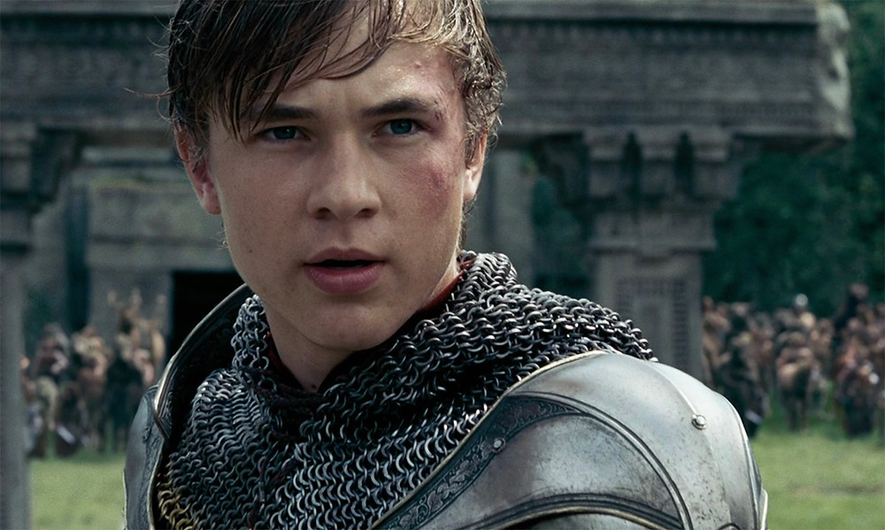 William Moseley as Peter in The Chronicles of Narnia.