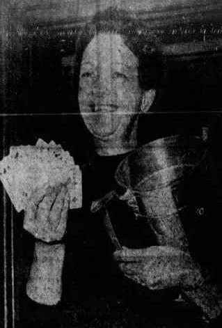 Matthew Noszka's grandmother Gloria was an expert bridge player | Hollywood Ancestry by Mike Batie