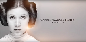 Carrie Fisher as Princess Leia   Hollywood Ancestry by Mike Batie