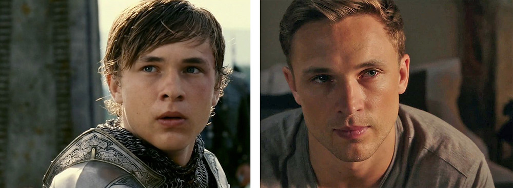 William Moseley in Narnia and The Royals - Hollywood Ancestry by Mike Batie