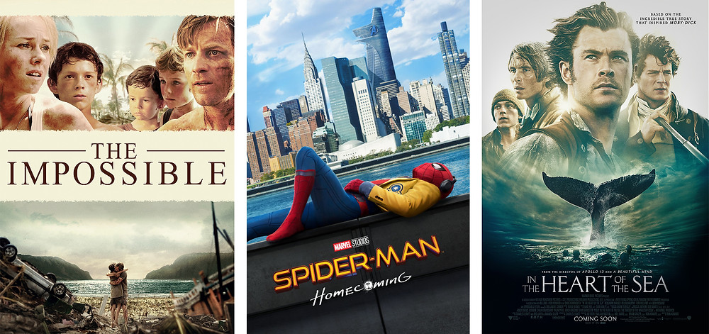 Tom Holland's movies, filmography