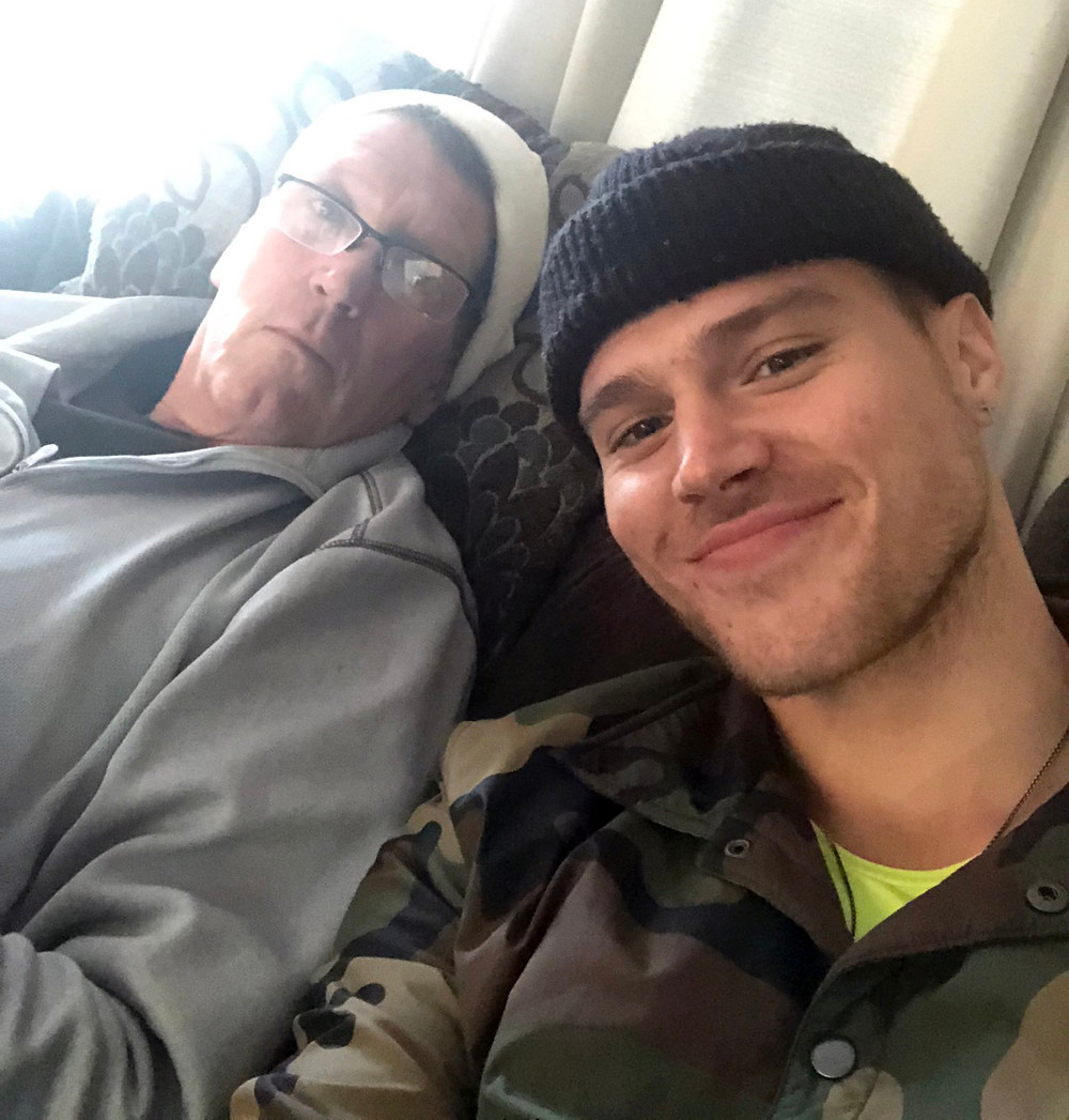 Matthew Noszka with his father | Hollywood Ancestry