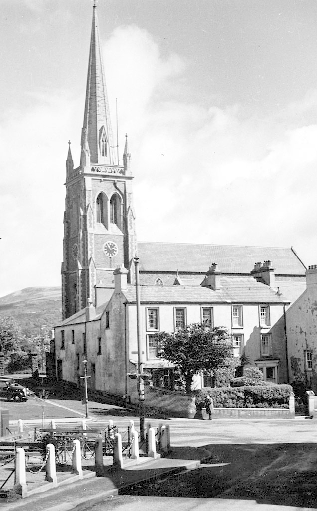 View of Saint Elvan's Church, designed by Andrew Moseley.