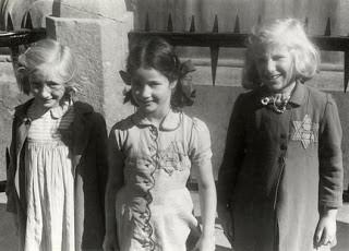 Mark-Paul Gosselaar's ancestors wore the Jewish star, like these children. Hollywood Ancestry - Mike Batie