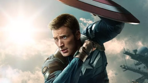 Chris Evans as defender of America.