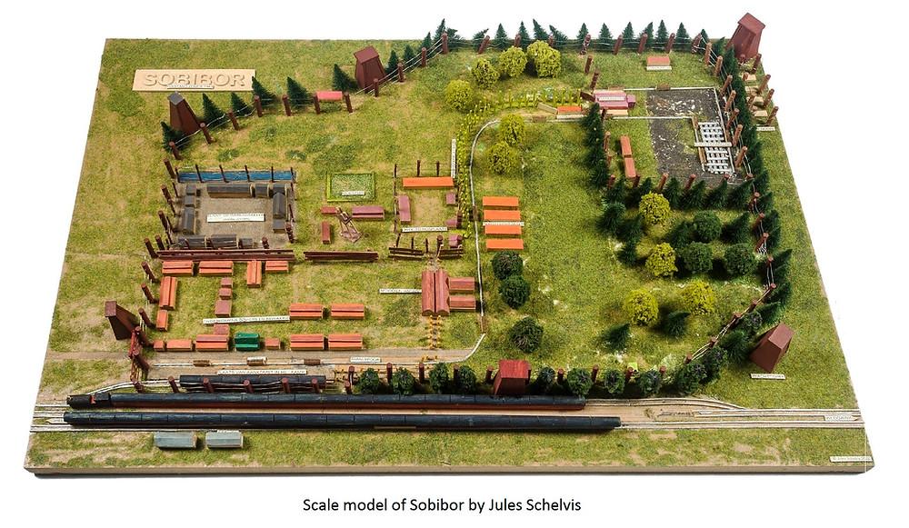 Scale model of Sobibor.
