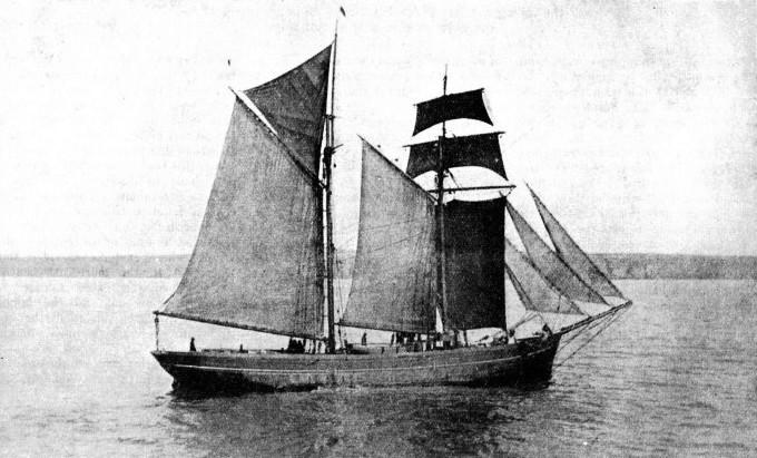 A coasting vessel boat built at Connah's Quay.