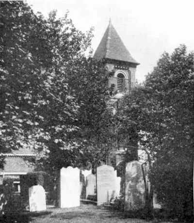 Saint Mary's Church, where William Willis Moseley was married.
