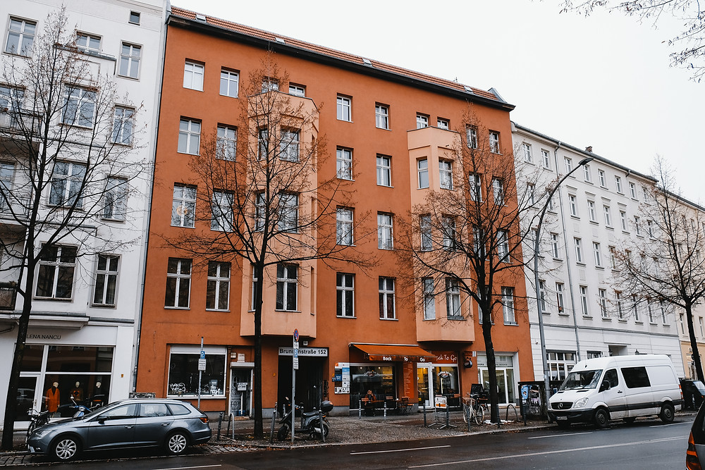 Possibly the final home in Berlin of Logan Lerman's ancestors. Hollywood Ancestry / Mike Batie