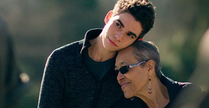 Cameron Boyce with his grandmother, Jo Ann Allen Boyce