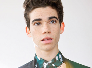 Cameron Boyce portrait by Rena Durham - Hollywood Ancestry by Mike Batie