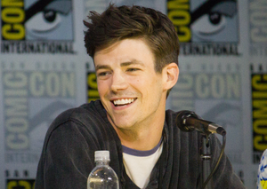 Grant Gustin at Comic-Con - Hollywood Ancestry by Mike Batie
